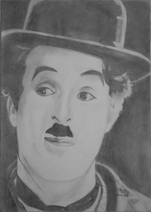 Charlie Chaplin by JoyceTirolli